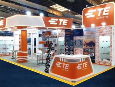 TE Connectivity Exhibition Stall Fabrication