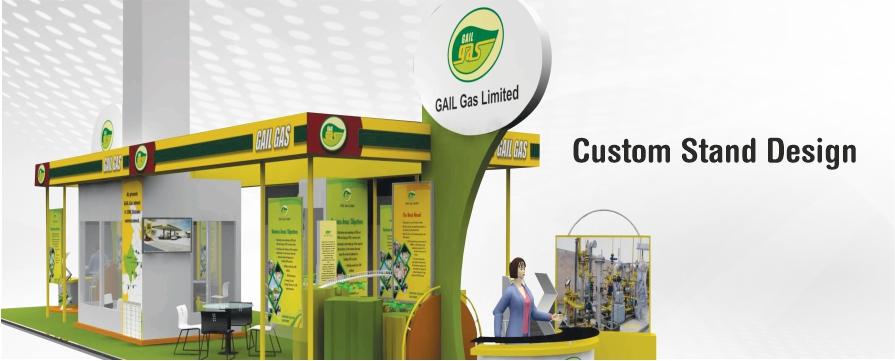 Custom Stand Design Mobile Banner