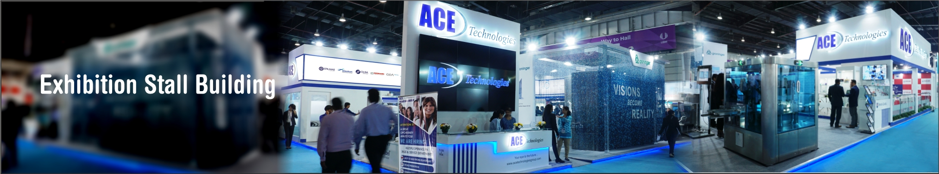 Exhibition Stand Framework : Exhibition stand builders exhibition stand construction in india