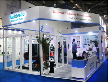 Nabtesco 42 Sq. Mtr. Auto Expo Components 2020, New Delhi