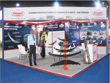 Vikrant 36 Sq. Mtr. Auto Expo Components 2020, New Delhi
